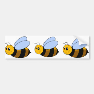 Bumble Bee Bumper Sticker