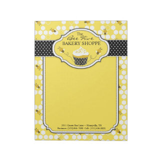 Bumble Bee Business Notepad