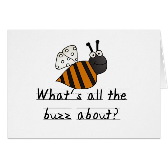 Bumble Bee Buzz Card