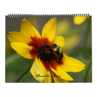 Bumble Bee, Calendar. Wall Calendar