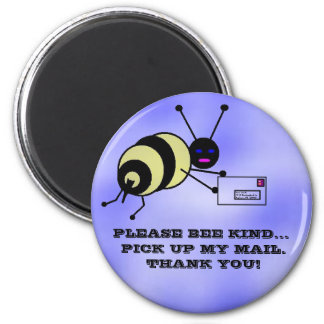 Bumble Bee Carrier 6 Cm Round Magnet