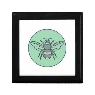 Bumble Bee Circle Mono Line Gift Box