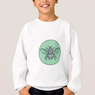 Bumble Bee Circle Mono Line Sweatshirt