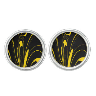 Bumble Bee Colors Cufflinks