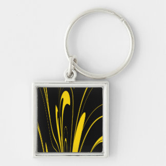 Bumble Bee Colors Key Ring