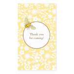 Bumble Bee Favour Tag Business Card