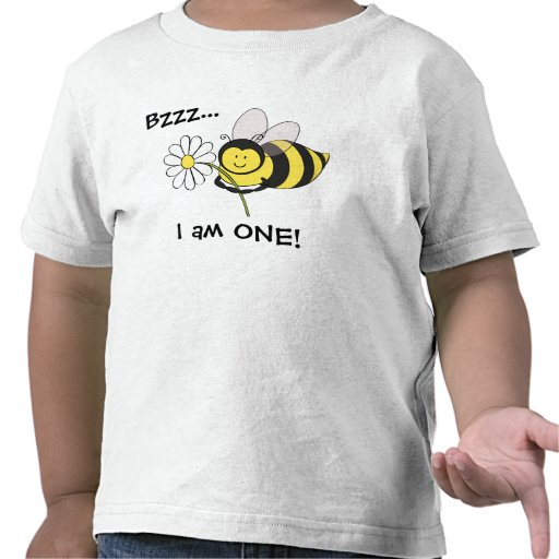 Bumble Bee First Birthday Shirt