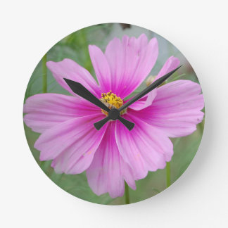 Bumble Bee Flower Spring & Summer Nature Wildlife Round Clock