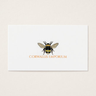 Bumble Bee Gold Business Card