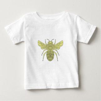 Bumble Bee Mandala Baby T-Shirt
