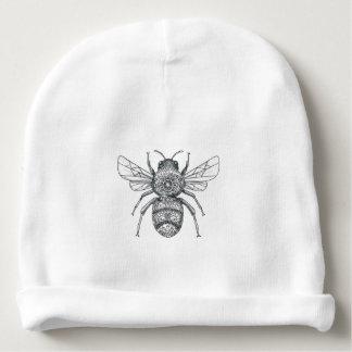 Bumble Bee Mandala Tattoo Baby Beanie