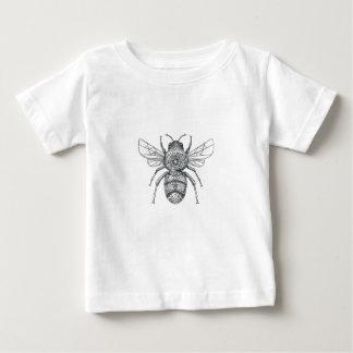Bumble Bee Mandala Tattoo Baby T-Shirt