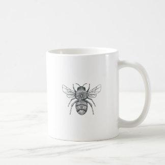 Bumble Bee Mandala Tattoo Coffee Mug