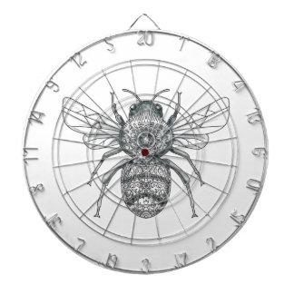 Bumble Bee Mandala Tattoo Dartboard
