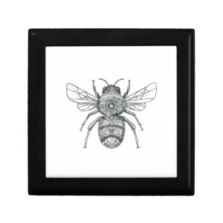 Bumble Bee Mandala Tattoo Gift Box