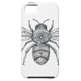 Bumble Bee Mandala Tattoo iPhone 5 Cover