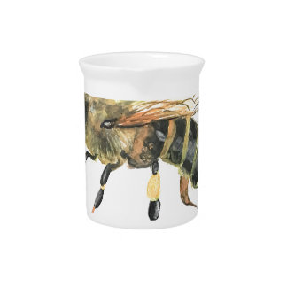 Bumble bee pitcher