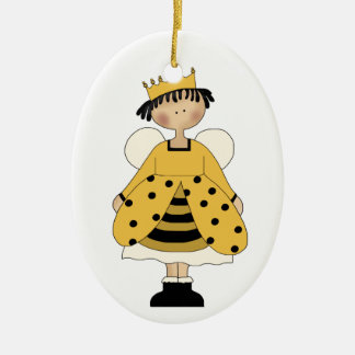 Bumble Bee Princess ornament