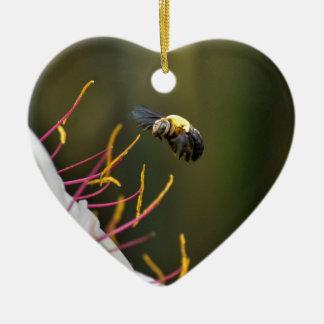 BUMBLE BEE QUEENSLAND AUSTRALIA CERAMIC ORNAMENT