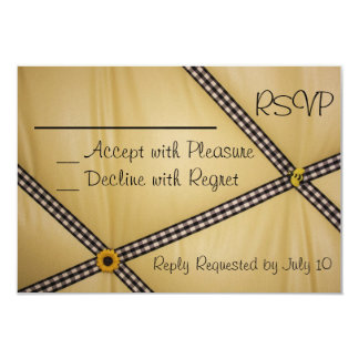 Bumble Bee RSVP Invitation