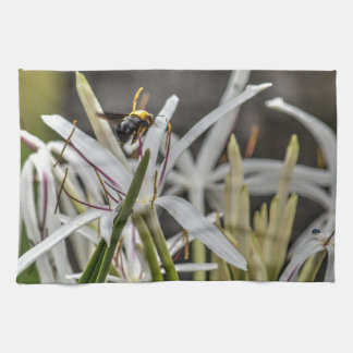 BUMBLE BEE RURAL QUEENSLAND AUSTRALIA TOWEL