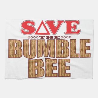 Bumble Bee Save Tea Towels