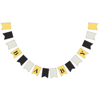 Bumble Bee Theme Baby Shower Bunting