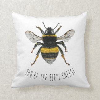 Bumble Bee Throw Cushion - You're the Bee's Knees