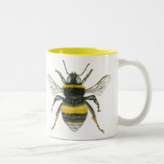 Bumble Bee Two Tone Mug