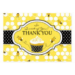 Bumble Bee TY Gift Tag Business Card Template