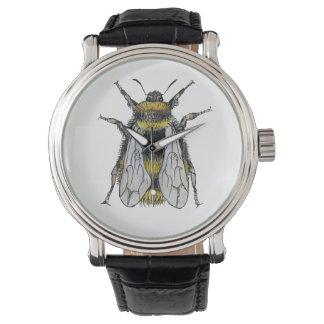 Bumble Bee Watercolour Artist Watch