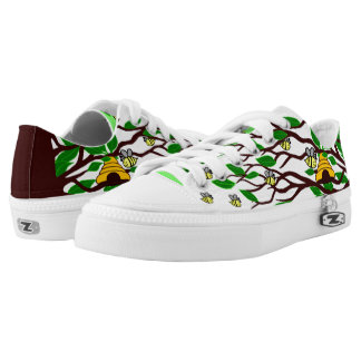 Bumble bees Canvas shoes Printed Shoes