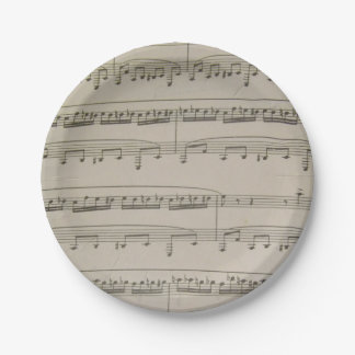 Bumble Boogie 7 Inch Paper Plate