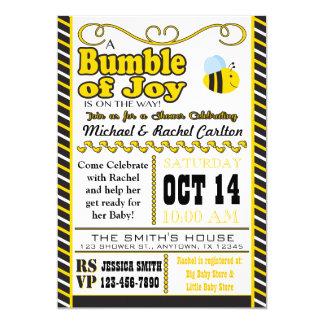 Bumble of Joy Baby Shower Invitation