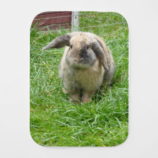 Bumble Rabbit Burp Cloth