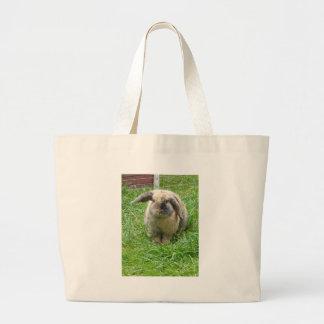 Bumble Rabbit Large Tote Bag