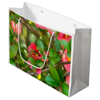 Bumblebee And Azalea Large Gift Bag