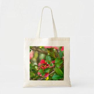 Bumblebee And Azalea Tote Bag