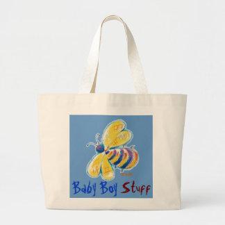 Bumblebee Baby Boy-x-large tote Jumbo Tote Bag