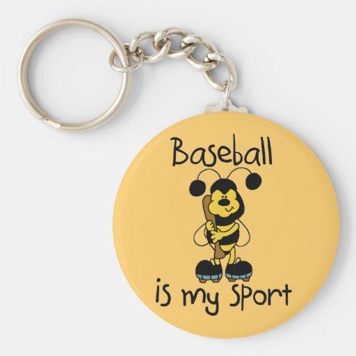 Bumblebee Baseball My Sport Tshirts and Gifts Key Chain