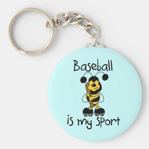 Bumblebee Baseball My Sport Tshirts and Gifts Keychain