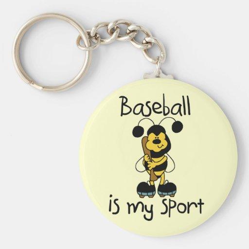Bumblebee Baseball My Sport Tshirts and Gifts Keychains
