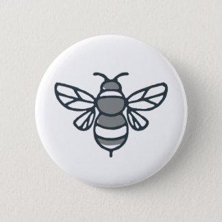Bumblebee Bee Icon 6 Cm Round Badge