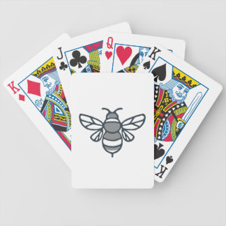 Bumblebee Bee Icon Bicycle Playing Cards