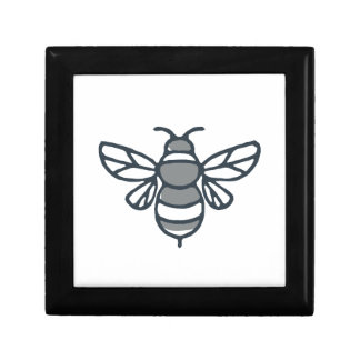 Bumblebee Bee Icon Gift Box