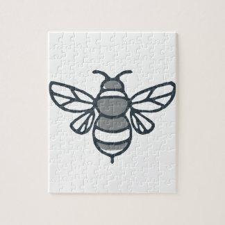 Bumblebee Bee Icon Jigsaw Puzzle
