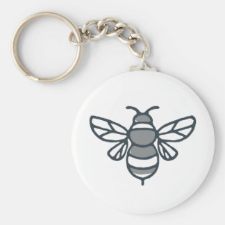 Bumblebee Bee Icon Key Ring