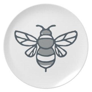 Bumblebee Bee Icon Plate