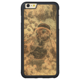 Bumblebee Carved Maple iPhone 6 Plus Bumper Case