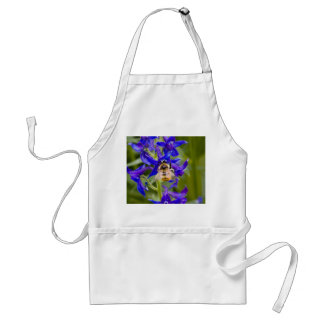 Bumblebee on Purple Flower Apron